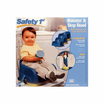 Safety 1st Booster & Step Stool in Green