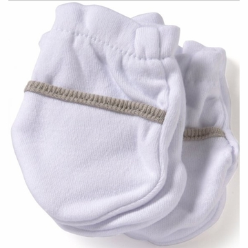 Safety 1st No Scratch 2 Pack Mittens in Taupe