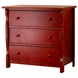 SB2 Princeton 3 Drawer Dresser in Merlot