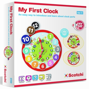 Scotchi My First Clock