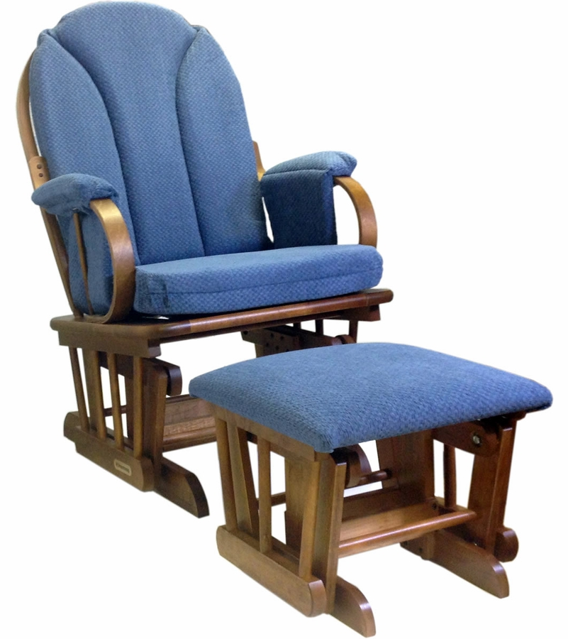 My husband and I went to babies r us and a few furniture stores, and all of the gliders were at least double this price and the same exact quality. Our chair arrived in 3 days, and although the box was slightly beat up like some of the reviews say, the chair was tightly wrapped inside the .