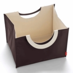 Skip Hop Bin GO's Large Storage Bin Chocolate/Natural