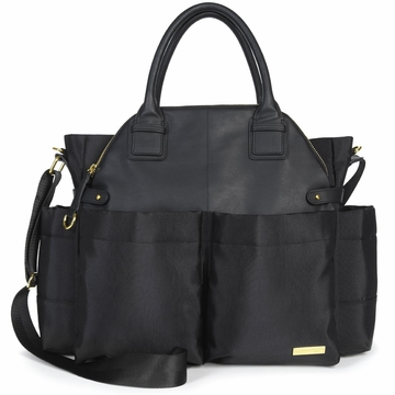 Skip Hop Chelsea Downtown Chic Diaper Bag - Black