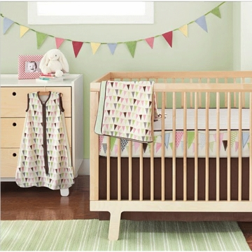 Skip Hop Complete Sheet 4-Piece Set - Pretty Pennant