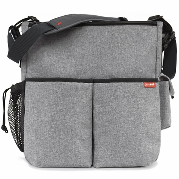 Skip Hop Duo Deluxe Edition in Heather Gray