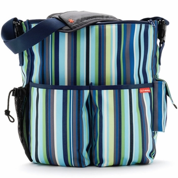 Skip Hop Duo Deluxe Edition in Ocean Stripe