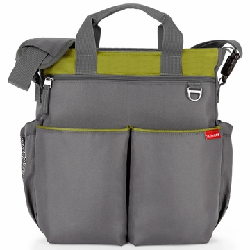Skip Hop Duo Signature Diaper Bag - Lime