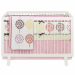 Skip Hop Flower Burst 4 Piece Crib Bedding Set