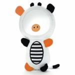 Skip Hop Funky Farmyard Squeak & Rattle Funny Face Cow Mirror