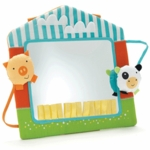 Skip Hop Funky Farmyard Touch & View Farmhouse Activity Mirror