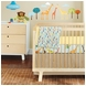 Skip Hop Giraffe Safari 4 Piece Crib Bedding Set