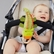 Skip Hop Giraffe Safari Stroller Toy - Crocodile