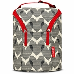 Skip Hop Grab & Go Double Bottle Bag - Hearts