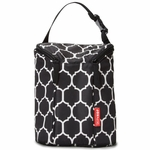 Skip Hop Grab & Go Double Bottle Bag - Onyx Tile