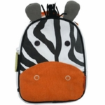 Skip Hop Zoo Lunchies Insulated Lunch Bag - Zebra