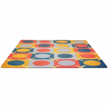 Skip Hop Playspot Interlocking Foam Tiles - Brights