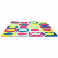 Skip Hop Playspot Interlocking Foam Tiles - Multi Mix