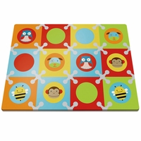 Skip Hop Playspot Interlocking Foam Tiles - Zoo-Multi