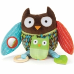Skip Hop Treetop Friends Hug & Hide Owl Activity Toy
