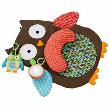 Skip Hop Treetop Friends Tummy Time Mat - Owl