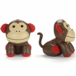 Skip Hop Zoo Book Ends in Monkey