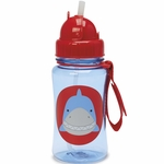 Skip Hop Zoo Straw Bottle - Shark