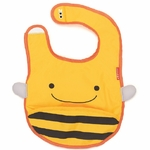 Skip Hop Zoo Tuck-Away Bib - Bee