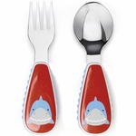 Skip Hop Zoo Utensil Set - Shark