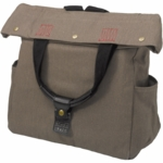 Sons of Trade Tactical Tote in Rugged Teak