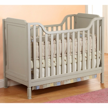 Sorelle Bedford Classic Crib in Gray