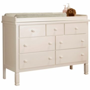 Sorelle Bedford Double Dresser in White