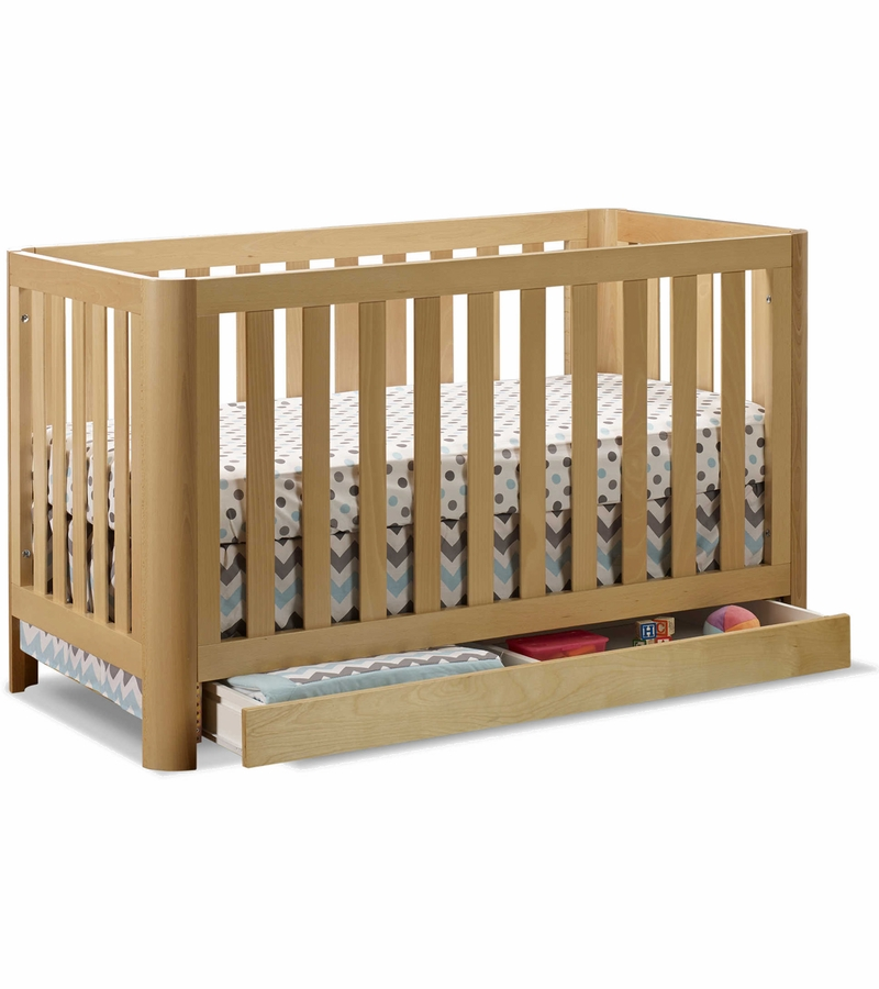 Sorelle Cortina 3 In 1 Convertible Crib Natural