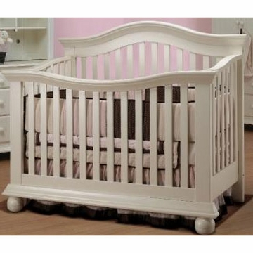 Sorelle Vista Couture Crib in French White