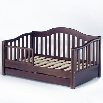Sorelle Grande Pine Toddler Bed in Espresso