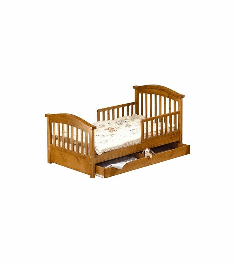 Sorelle Joel Pine Toddler Bed Oak