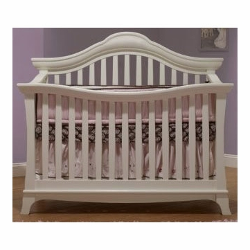 Sorelle Napa 4 in 1 Crib in French White