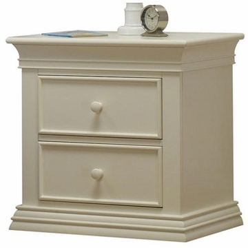 Sorelle Verona Nightstand in French White