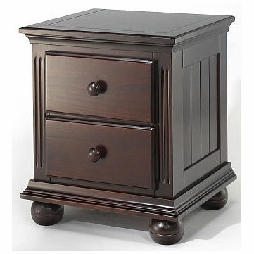 Sorelle Vista Night Stand in Espresso