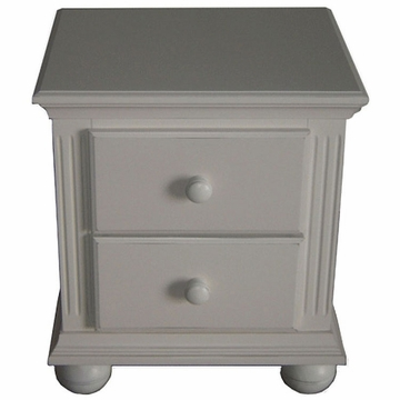 Sorelle Vista Night Stand in French White