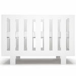 Spot on Square Eicho Crib in White
