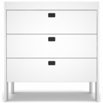 Spot on Square Eicho Dresser/Changer in White
