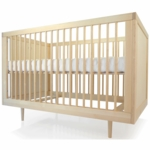 Spot on Square Ulm Crib in Birch
