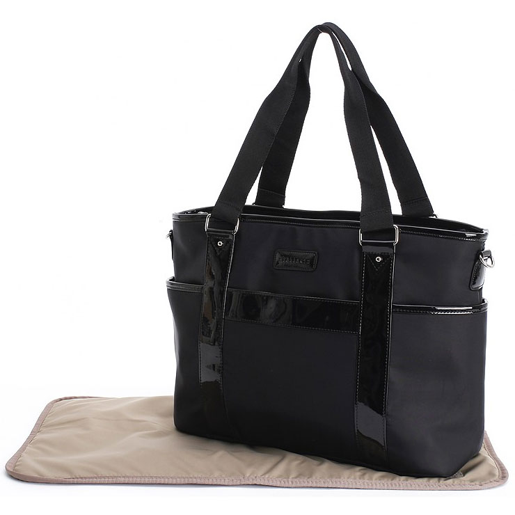 Stellakim Lauren Tote Diaper Bag In Black