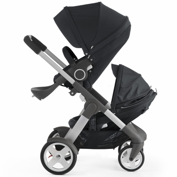 Stokke Crusi Double Stroller - Black