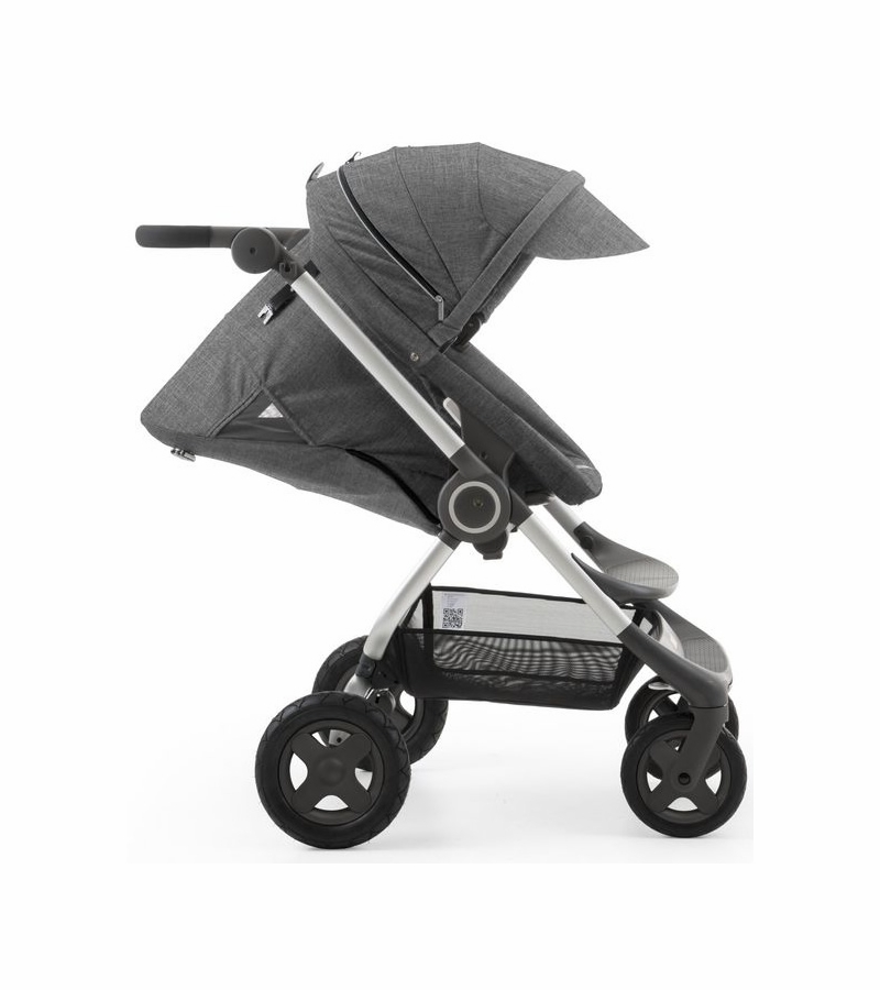 Stokke Scoot V2 Stroller Black Melange on baby car seat stroller