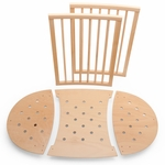 Stokke Sleepi Bed Extensions, Mini to Crib Conversion - Natural