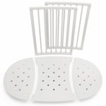 Stokke Sleepi Bed Extensions, Mini to Crib Conversion - White