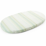 Stokke Sleepi Fitted Sheet - Aqua Straw