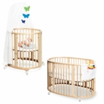 Stokke Sleepi System 1 Bassinet and Crib Set in Natural