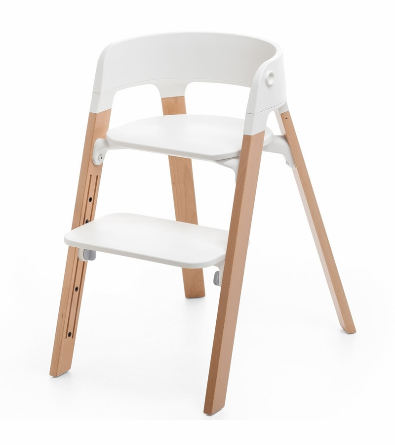 Stokke steps chair natural - Chaise enfant accoudoir ...